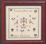 Dear Mother - (Cross Stitch)