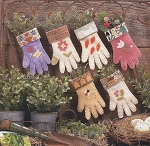Garden Gloves - (Cross Stitch)