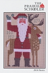 2016 Santa Prairie Schooler - (Cross Stitch)