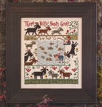 3 Billy Goats Gruff - (Cross Stitch)