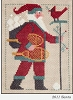 2011 Santa - Prairie Schooler - (Cross Stitch)