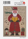 2014 Santa Prairie Schooler - (Cross Stitch)