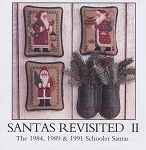 Santas Revisted II 1984, 1989, 1991 - (Cross Stitch)