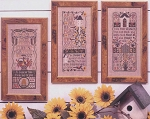 Garden Samplers - (Cross Stitch)