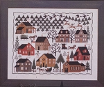 Christmas Village - (Cross Stitch)