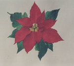 The Most Wonderful Reds of the Year Poinsettia - (Cross Stitch)