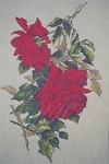 Ingrid Red Roses - (Cross Stitch)
