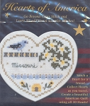 Hearts of America- Missouri - (Cross Stitch)