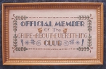Griper's Club - (Cross Stitch)