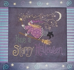 Starry Halloween - (Cross Stitch)