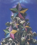 Yuletide Star Ornaments - (Cross Stitch)