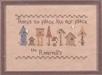 No Place Like Our Place - (Cross Stitch)