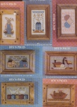 Set of 7 Bits 'N Pieces cards Country Designs - (Cross Stitch)