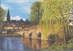 Bakewell Bridge The Pead District - (Cross Stitch)