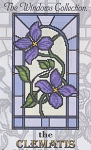 The Clematis - (Cross Stitch)