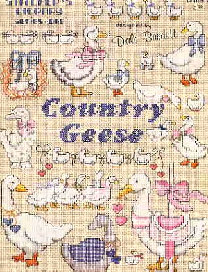 Country Geese - (Cross Stitch)
