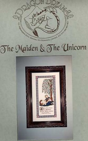 The Maiden & The Unicorn - (Cross Stitch)