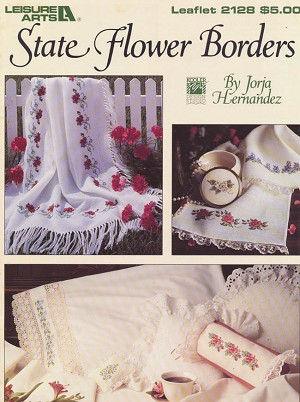 State Flower Borders - (Cross Stitch)