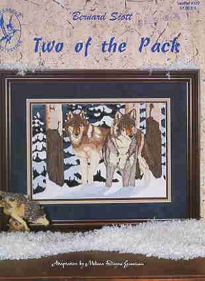 Two of the Pack - (Cross Stitch)