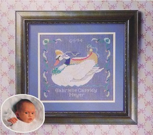 Gabrielle's Cygnet - (Cross Stitch)