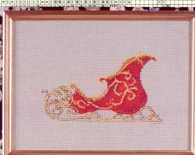 Royal Ride - (Cross Stitch)