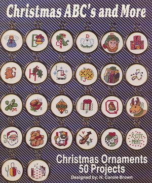 Christmas ABC's and More - (Cross Stitch)