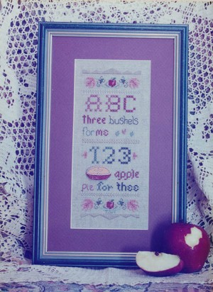 Apple Pie - (Cross Stitch)