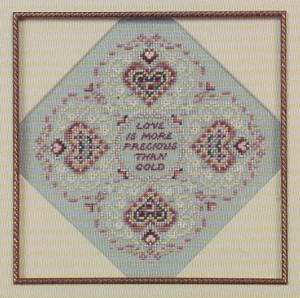 From the Heart - (Cross Stitch)