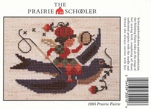 1995 Prairie Fairie - (Cross Stitch)