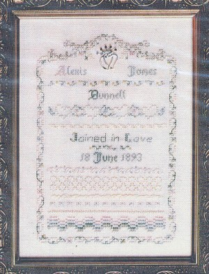 Hearts of Joy No. 4 - (Cross Stitch)