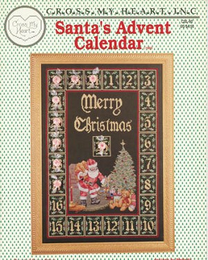 Santa's Advent Calendar - (Cross Stitch)