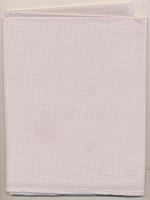 "28ct Light Grey Jobelan Fabric - 28"" x 17.5"" - (Cross Stitch)"