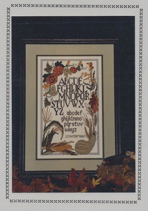 Ozarks Seasonal Sampler Fall - (Cross Stitch)