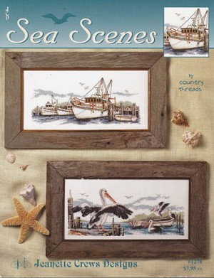 Sea Scenes - (Cross Stitch)