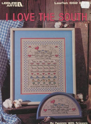 I Love the South - (Cross Stitch)