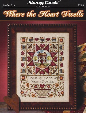 Where the Heart Dwells - (Cross Stitch)