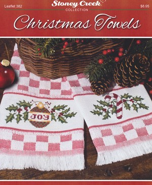 Christmas Towels - (Cross Stitch)
