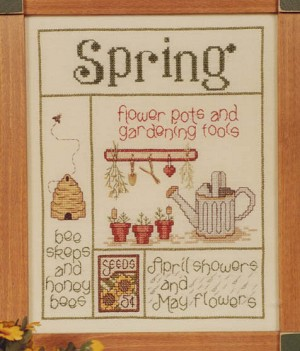 It's Spring - (Cross Stitch)