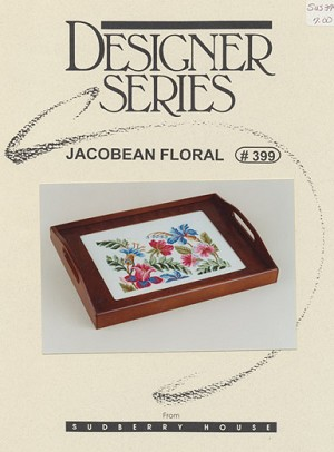 Jacobean Floral - (Cross Stitch)