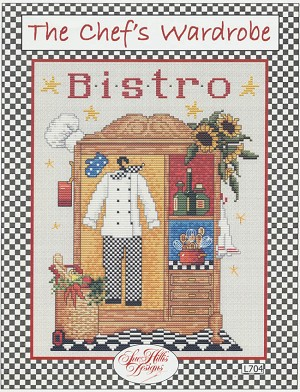 The Chef's Wardrobe - (Cross Stitch)