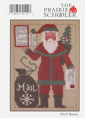 2012 Santa - (Cross Stitch)