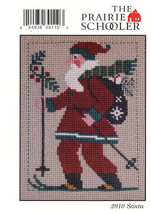 2010 Santa Prairie Schooler - (Cross Stitch)