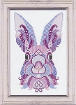 Colorful Bunnies - Lavender & Orchid