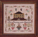 Mary Clayton an English School Girl Sampler