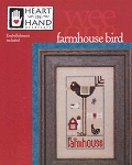 Farmhouse Bird w/Button Wee One