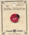 Ladybug Button by Mill Hill #86050
