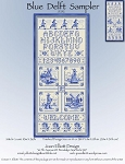 Blue Delft Sampler