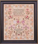 Mary Ann Diaper 1826 Sampler
