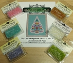 Hungarian Folk Art No. 3 Embellishment Pack