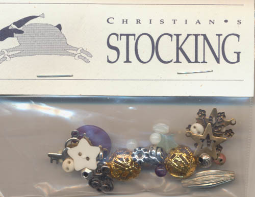 Christian's Stocking Charms and Embellishments